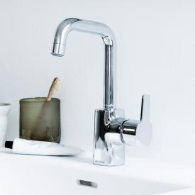 Damixa Pine single lever basin mixer Cold Start, with J spout