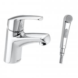 Damixa Rowan single lever basin mixer with hand spray