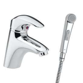 Damixa Space single lever basin mixer with hand shower, without waste set