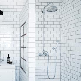 Damixa Tradition exposed two handle shower system
