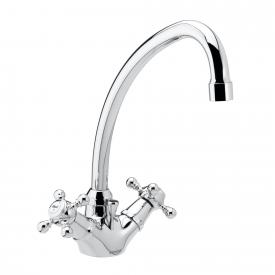 Damixa Tradition two handle basin mixer