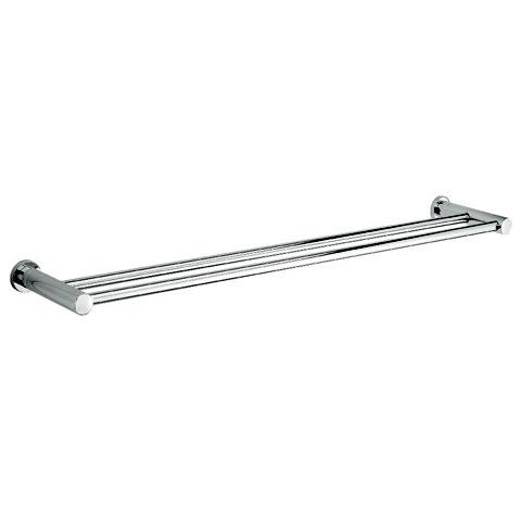 Damixa Series 48 double towel rail 828 x 141 mm chrome