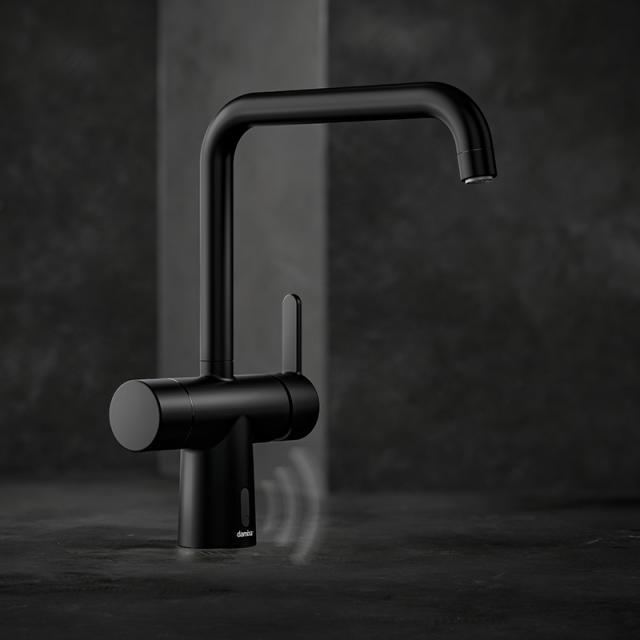Damixa Silhouet Touchless electronic kitchen fitting matt black