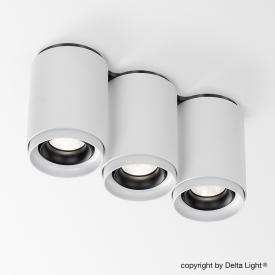Delta Light Link S3 LED ceiling light / spotlight, 3 heads