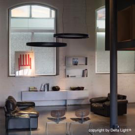 Delta Light Super-Oh! Down-Up LED pendant light