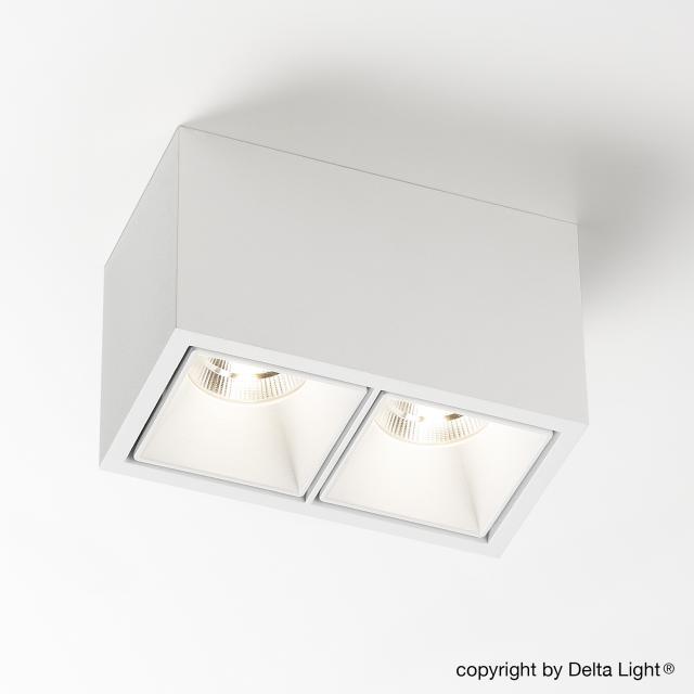 DELTA LIGHT Boxy 2L+ LED ceiling light/spotlight