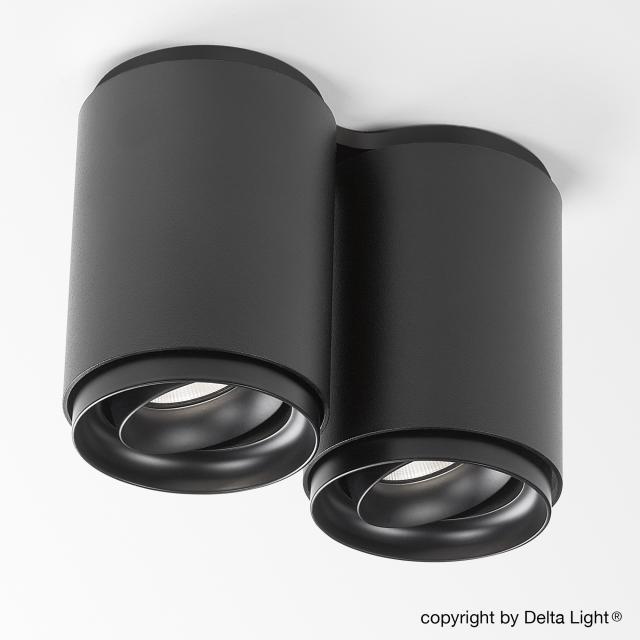 DELTA LIGHT Link S2 LED ceiling light / spotlight, double