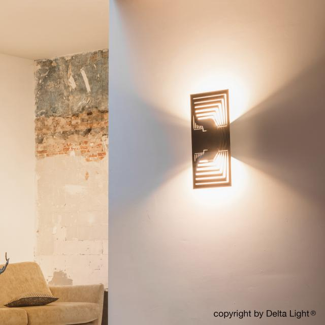 DELTA LIGHT Soiree WS X Down-Up LED wall light
