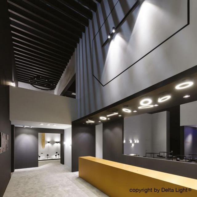DELTA LIGHT Super-Oh! XS Pivot LED ceiling light