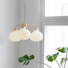 design for the people Raito pendant light, 3 heads