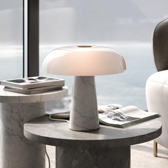 design for the people Glossy table lamp