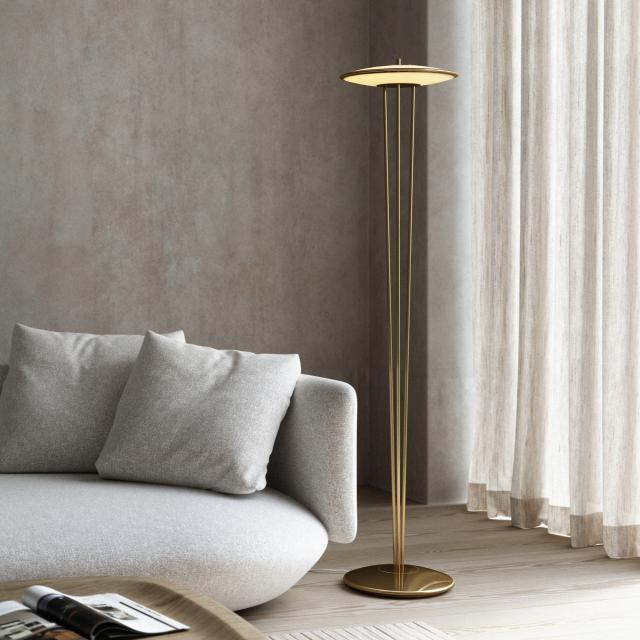 design for the people Blanche LED floor lamp with dimmer