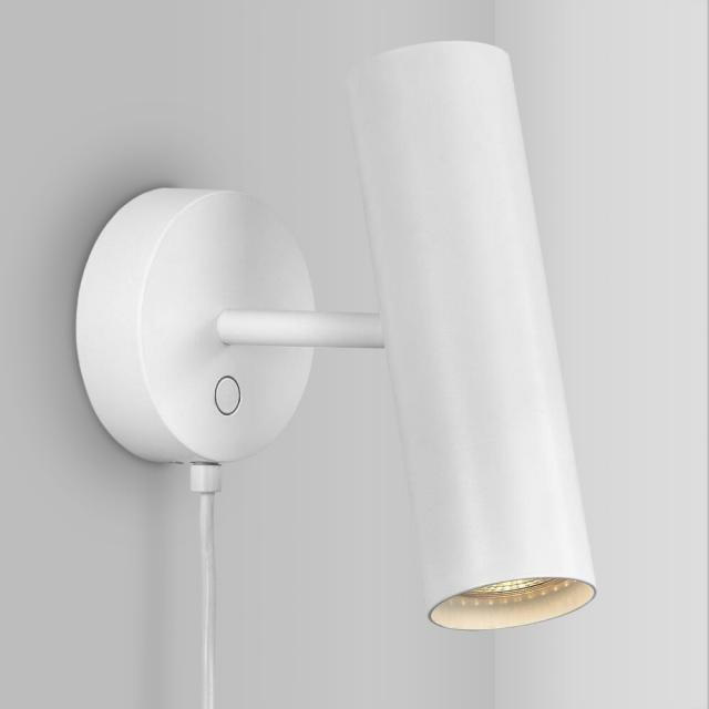design for the people MIB 6 wall light with power supply