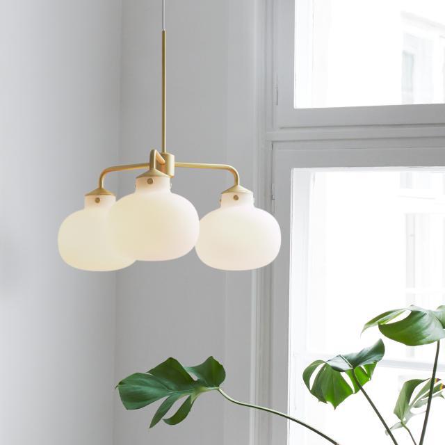 design for the people Raito pendant light, 3 heads
