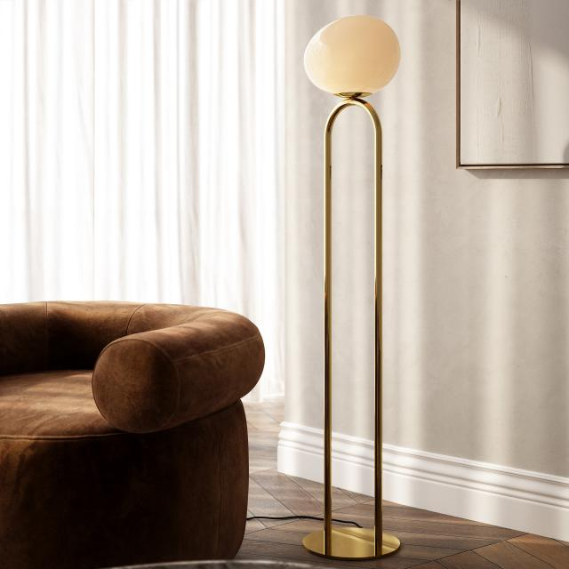 design for the people Shapes floor lamp