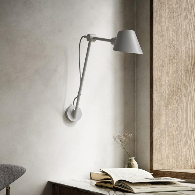 design for the people Stay wall light with power cord