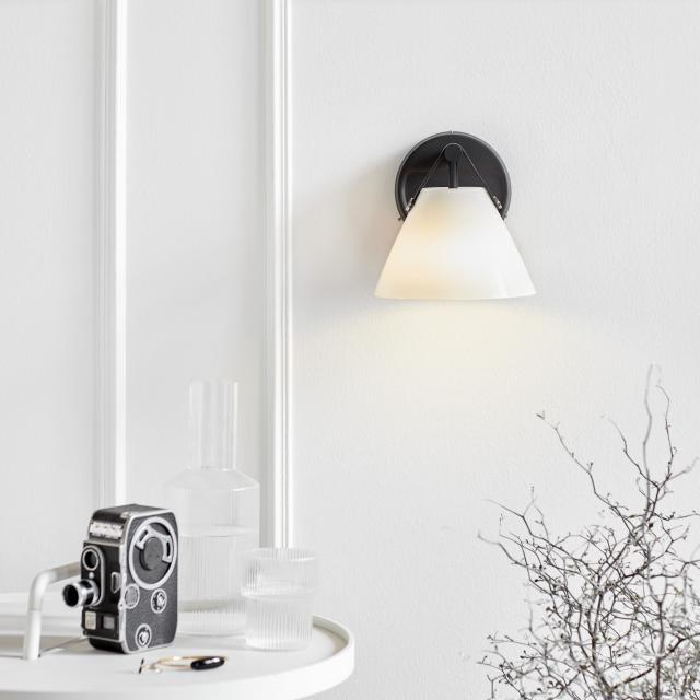 design for the people Strap Opal wall light