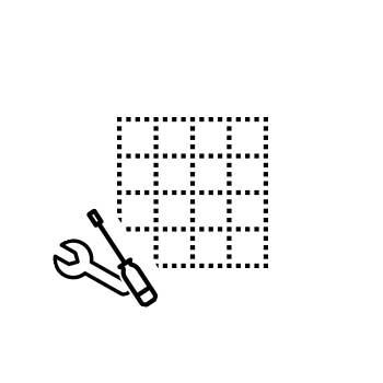 Koralle installation service for corner installation, quadrant, pentagonal