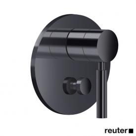 Dornbracht concealed, single lever mixer with diverter matt black