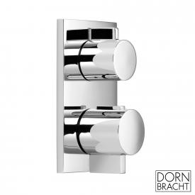 Dornbracht concealed thermostat with volume regulation chrome