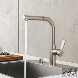 Dornbracht Elio single lever mixer Pull-out matt platinum