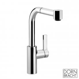 Dornbracht Elio single lever mixer with pull-out shower chrome