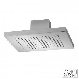 Dornbracht JUST RAIN rain shower with ceiling connection polished stainless steel