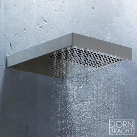 Dornbracht JUST RAIN rain shower with wall connection brushed stainless steel