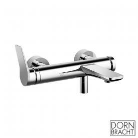 Dornbracht Lissé exposed, single lever bath mixer chrome