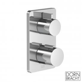 Dornbracht LULU concealed thermostat with two-way volume control chrome