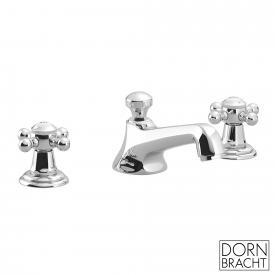 Dornbracht Madison three-hole basin mixer with waste set, chrome