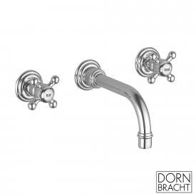 Dornbracht Madison wall-mounted basin mixer projection: 190 mm, chrome