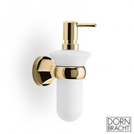 Dornbracht Madison wall-mounted lotion dispenser brass