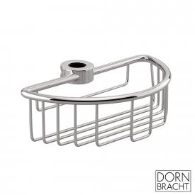 Dornbracht shower basket for retrofitting to pipes chrome
