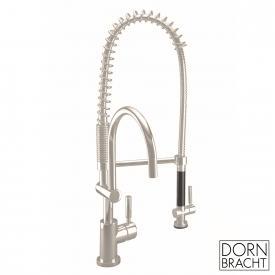 Dornbracht Tara Classic Professional - single lever kitchen mixer matt platinum
