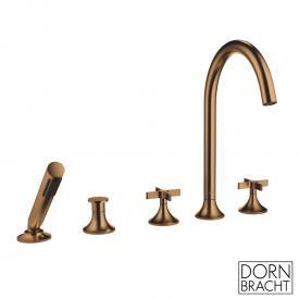 Dornbracht VAIA deck-mounted five-hole bath mixer matt brass