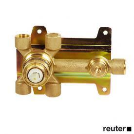 DOVB wall-mounted, single lever basin mixer