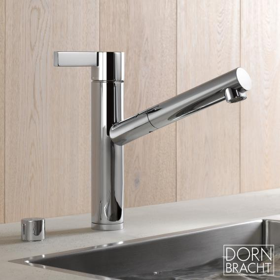 Dornbracht Eno single lever mixer pull-out chrome