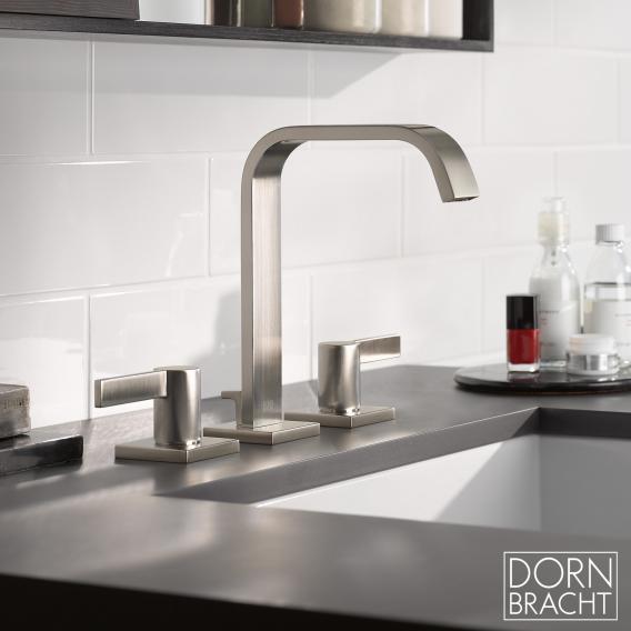 Dornbracht IMO three hole basin mixer matt platinum