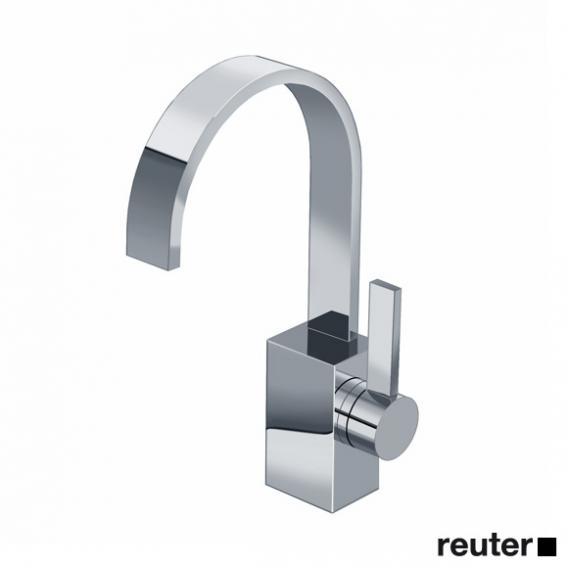 Dornbracht MEM single lever basin mixer without waste set, chrome