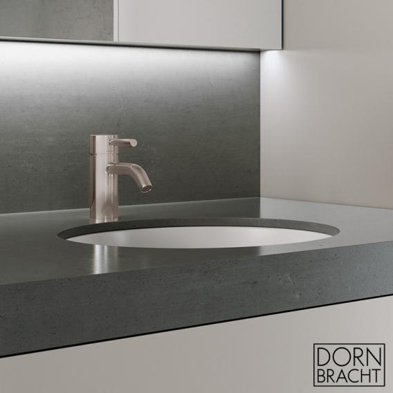 Dornbracht Meta single lever basin mixer without waste set, matt platinum