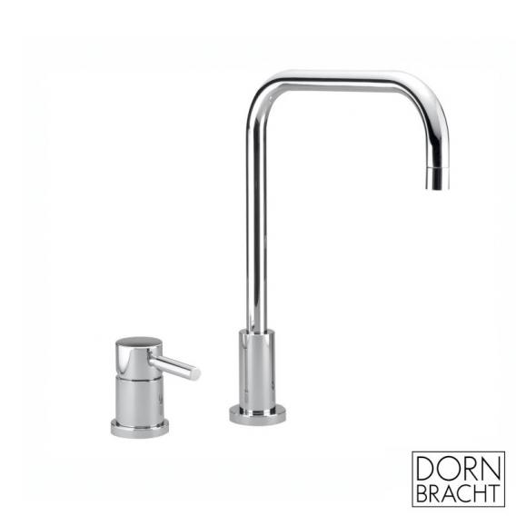 Dornbracht Meta.02 two-hole kitchen fitting for combination with shower set chrome