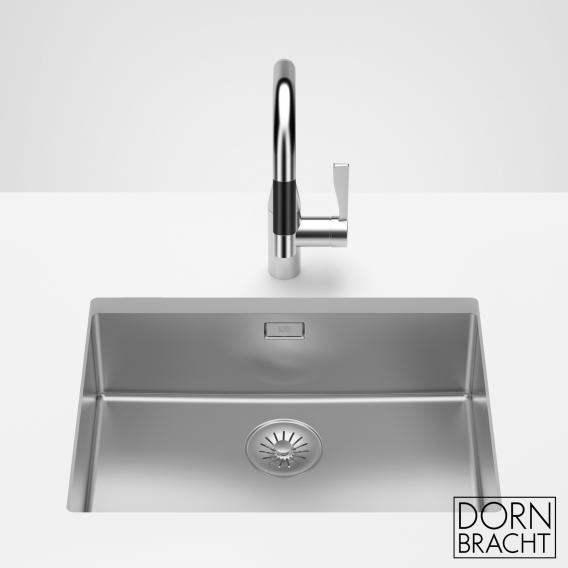 Dornbracht polished stainless steel single sink 550