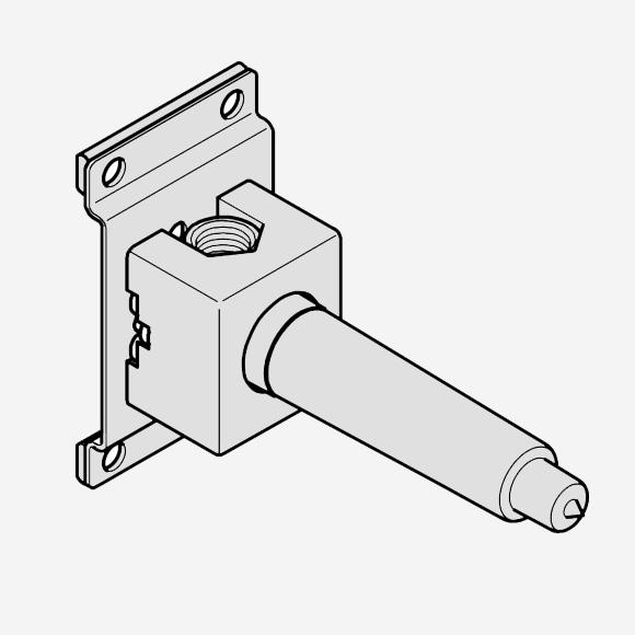 "Dornbracht concealed valve 1/2"", pre-installation set"