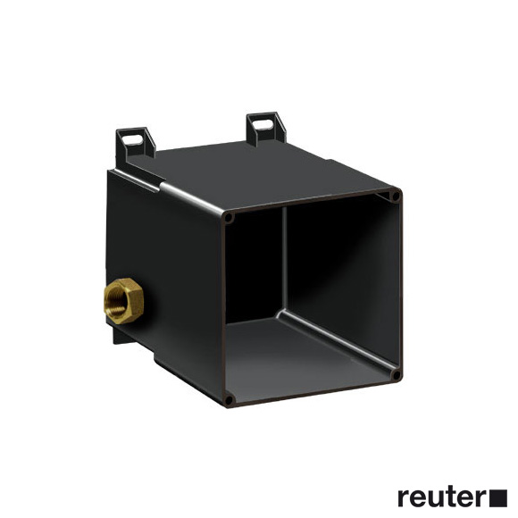 Dornbracht installation box for concealed body spray