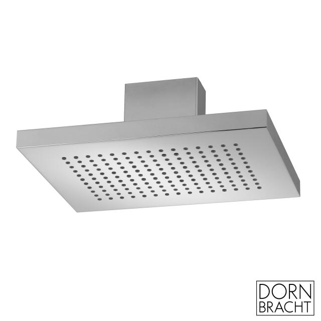 Dornbracht JUST RAIN rain shower with ceiling connection brushed stainless steel