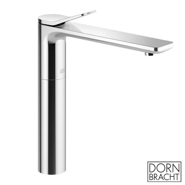 Dornbracht Lissé single lever basin mixer with raised pillar chrome