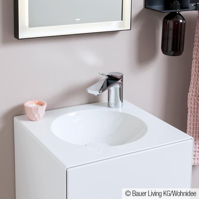 Dornbracht Lissé single lever basin mixer without waste set, chrome