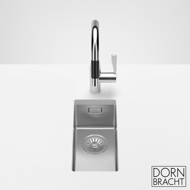 Dornbracht polished stainless steel single sink 180