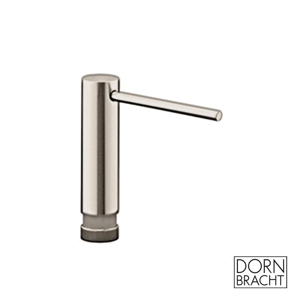 Dornbracht recessed washing-up liquid dispenser matt platinum